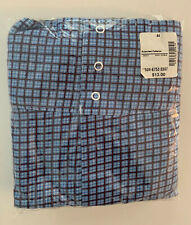 Nos Lot Of 2 Vtg Towncraft Mens Cotton Pattern Snap Front Boxer Shorts Size 44