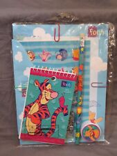 90's Disney's Impact Winnie The Pooh Notebook Stickers Pencil Stationary Set