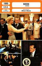 FICHE CINEMA : NIXON - Hopkins,Allen,Boothe,Harris,Sorvino,Woods,Stone 1995