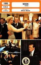 FICHE CINEMA : NIXON - Hopkins,Allen,Boothe,Harris,Sorvino,Woods,Stone 1995