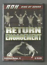 ROH Return Engagement Ring of Honor PWG Chikara WWE DGUSA CZW WXW Nigel vs Steen