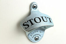 """NEW """"STOUT"""" STARR X WALL MOUNTED BEER BOTTLE OPENER BAR DECOR HOME BREW"""