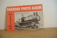 ~RAILROAD PHOTO ALBUM~STEAM LOCOMOTIVES NO. 1~1951~