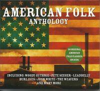 AMERICAN FOLK ANTHOLOGY - 2 CD BOX SET - WOODY GUTHRIE & MORE