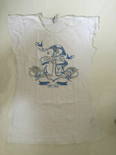 ZARA KIDS WHITE NAUTICAL ANCHOR 'TRUE LOVE' DESIGN T-SHIRT – 11-12 YEARS