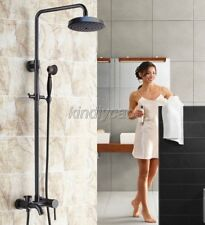 Bathroom Shower Faucet Set Hand Sprayer Tub Mixer Tap Oil Rubbed Bronze