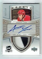 05-06 UD The Cup  Andrew Ladd  /199  Auto  Patch  Rookie