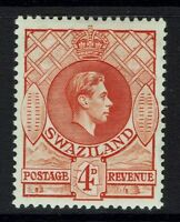 Swaziland SG# 33  - Perf 13.5 x 13 - Mint Lightly Hinged - 090415