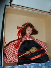 Vintage Nancy Ann Storybook Doll Box 185 Saturday Child Must Work For A Living