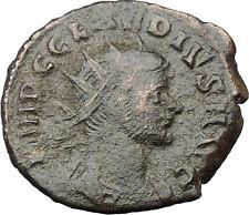 CLAUDIUS II Gothicus 268AD  Ancient Roman Coin Genius Protection Wealth i32452