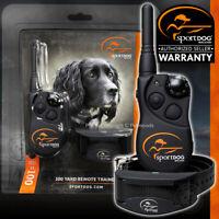 SportDOG 100 Yard Trainer Rechargeable Remote Dog Yard Training Collar YT-100
