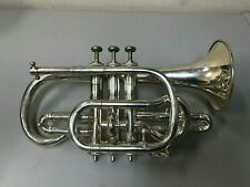 Antique F. Besson Silver Cornet