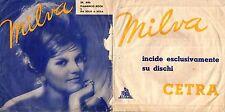 DISCO 45 GIRI    MILVA - FLAMENCO ROCK / DA SOLO A SOLA