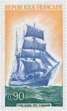"EBS France 1972 Newfoundland Sailing Ship ""Côte d'Emeraude""  YT 1717 MNH**"