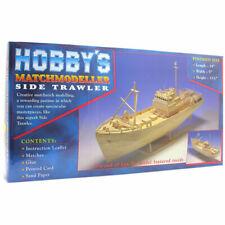 Hobby's Matchmodeller Side Trawler Matchcraft Match Stick Craft Kit