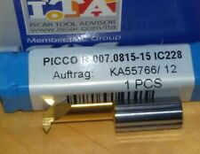 Iscar Minibohrstange Gewindebohrstange PICCO R 007.0815-15 IC228 groove turn 60°
