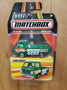 MATCHBOX BEST OF ~ 2016 SERIES 1 ~ '66 DODGE A100 PICKUP