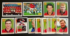 Merlin Premier League 96 Stickers - Manchester United Team Set (x21)