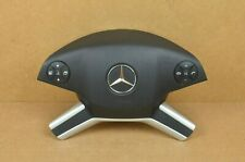 Mercedes ML GL Black Left Driver Steering Wheel Airbag OEM