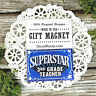 Superstar 3rd Grade TEACHER * Appreciation Magnet * School NEW USA Pkg DecoWords