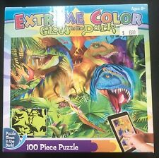 Glow In The Dark Dinosaur Puzzle 15x11.5