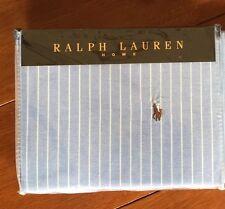 Ralph Lauren Ancho Raya Doble Funda nórdica tamaño 200cm X200cm Azul Real PVP £ 185