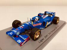 Spark F1 Ligier JS41 n°25 GP Belgique 1995 M. Brundle 1/43 S7408 1219