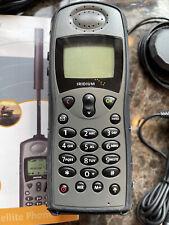 Iridium 9505A Satellite Phone - used with accessories, case, etc - Free Shipping