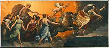GUIDO RENI UltraRare Antq/Vtg c1910s Hand-color Photo-mech Print AURORA, APOLLO