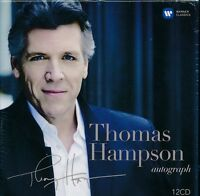Thomas Hampson Autograph box CD NEW 12-disc