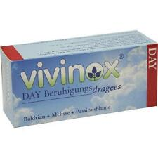 VIVINOX Day Beruhig.Drag.mit Bald.Mel.+Passionsbl. 40 St