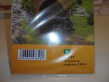 Vollmer 47811 N Gauge,Tunnel Portal,Single Track,2 Pcs # NEW ORIGINAL PACKAGING