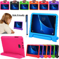 Kids Safe EVA Foam Handle Stand Case Cover Shockproof For Samsung Galaxy Tab A