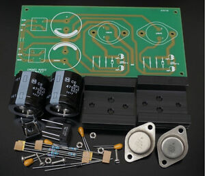 24V Regulated Power Supply + NAC152XS two-branch DIY Kit Ref NAIM HI-CAP Circuit