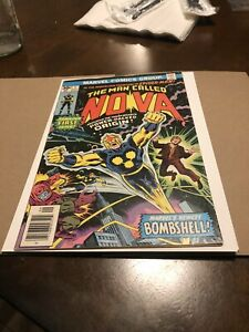 Nova #1 Newsstand 1st Appearance of Nova Richard Ryder Marvel 1976 Comic Book