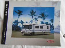 Winnebago Brave Motorhome brochure 2000