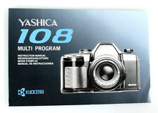 YASHICA 108 MULTI PROGRAM CAMERA MANUAL