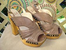Zu 'Miss Zo' Leather Platforms Size 39