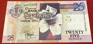 Seychelles - 25 Rupees (1998) P#37a Uncirculated
