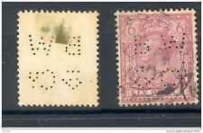 GB, 1924 6d with perfin   B W & Co   (D)