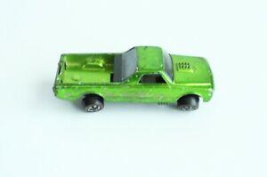 Vintage Hot Wheels Redline Custom Fleetside Green