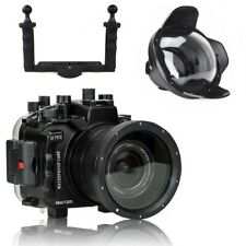 AU Seafrogs 40m Underwater Camera Housing for Sony A7 III A7R III Dome Port Tray