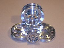UNDERDRIVE PULLEY 4 PC SET 94-96 fits NISSAN 300ZX NON-TURBO