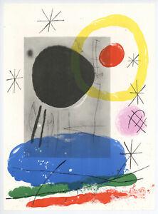 Joan Miro original lithograph 58707