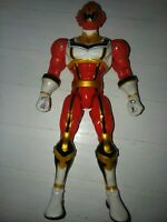 "Power Rangers Mystic Force 15th Anniversary 6 1/2"" Red Ranger Figure Bandai 2006"