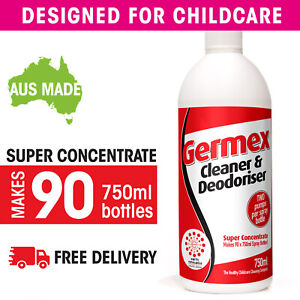 Germex Germicidal Detergent Super Concentrate: SEE VIDEO