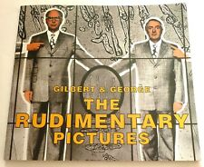 Gilbert and George - The rudimentary pictures  RARE ART EXHIBITION CATALOGUE