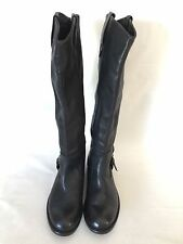 DV by Dolce Vita Black Real Leather Riding Boots  MSRP $219.95