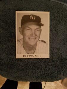 VINTAGE 1950s/60s JAY PUBLISHING BILL DICKEY NEW YORK YANKEES NM