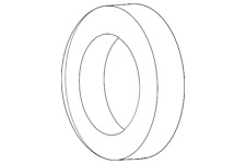 Genuine Mercedes-Benz Reservoir Gasket 000-466-18-80
